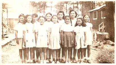 Masako in camp