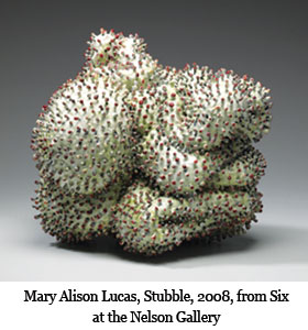Mary Alison Lucas, Stubble, 2008, from Six at the Nelson Gallery