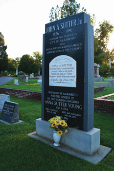 Sutter Grave