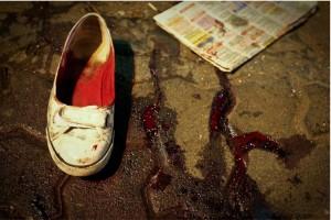 Andri Tambunan, Blood Shoe, 2008
