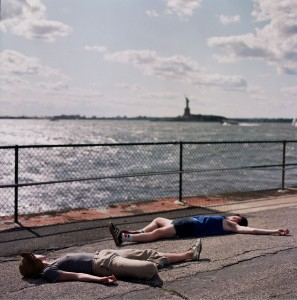 Cian McConn, Dead With Statue of Liberty, 2009